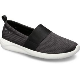 Crocs LiteRide Klapki z siateczką Kobiety, black/white